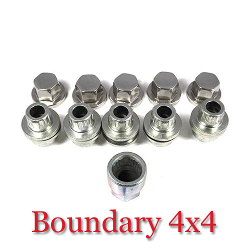 Defender D1 RR Classic Alloy Locking Wheel Nut Set STC8843AA