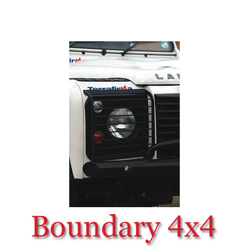 Land Rover Defender Front Light Guards STC53161