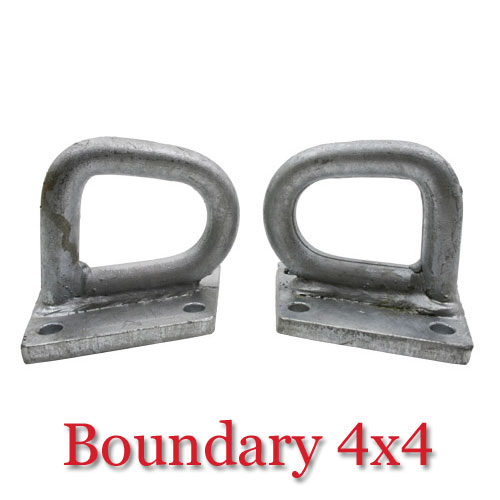 Pair Of Land Rover Defender Rear Recovery Points TFRRP