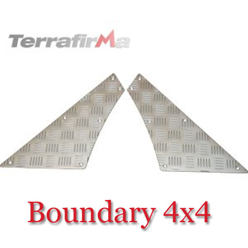 Land Rover Defender Rear Quadrant Chequer Plate RQKIT01-110A