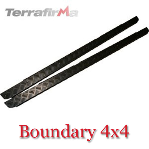 Land Rover Defender 110 Side Sill Chequer Plates SLKIT01-CSWB