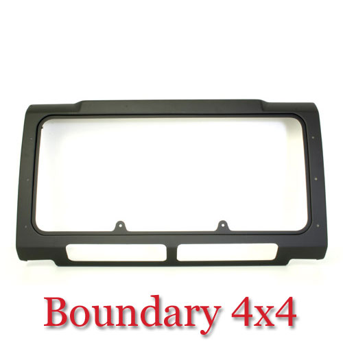 Land Rover Defender Air Con Front Grille Surround Black TF275
