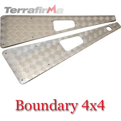 Land Rover Defender Wing Top Chequer Plates WTKIT01-LAHA
