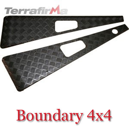 Land Rover Defender Wing Top Chequer Plates WTKIT01-LAHB