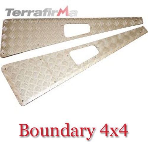 Land Rover Defender Wing Top Chequer Plates WTKIT01-NHA
