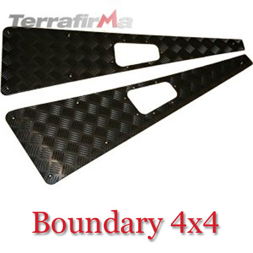Land Rover Defender Wing Top Chequer Plates WTKIT01-NHB