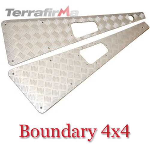 Land Rover Defender Wing Top Chequer Plates WTKIT01-RAHA
