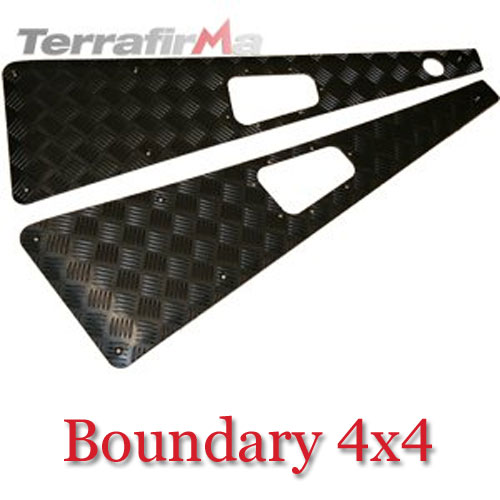 Land Rover Defender Wing Top Chequer Plates WTKIT01-RAHB