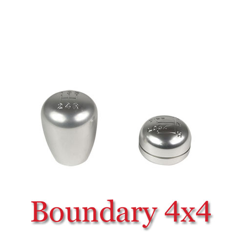 Land Rover Defender Alloy Gearbox and Transfer Box Knobs TF929