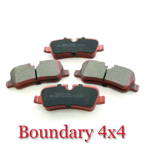 Rear Brake Pads D3 D4 L322 RR Sport LR021316TF