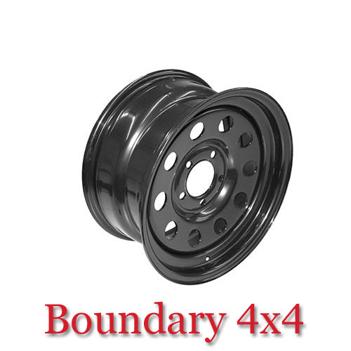 Terrafirma Modular Steel Wheel 8X16 Black GRW012